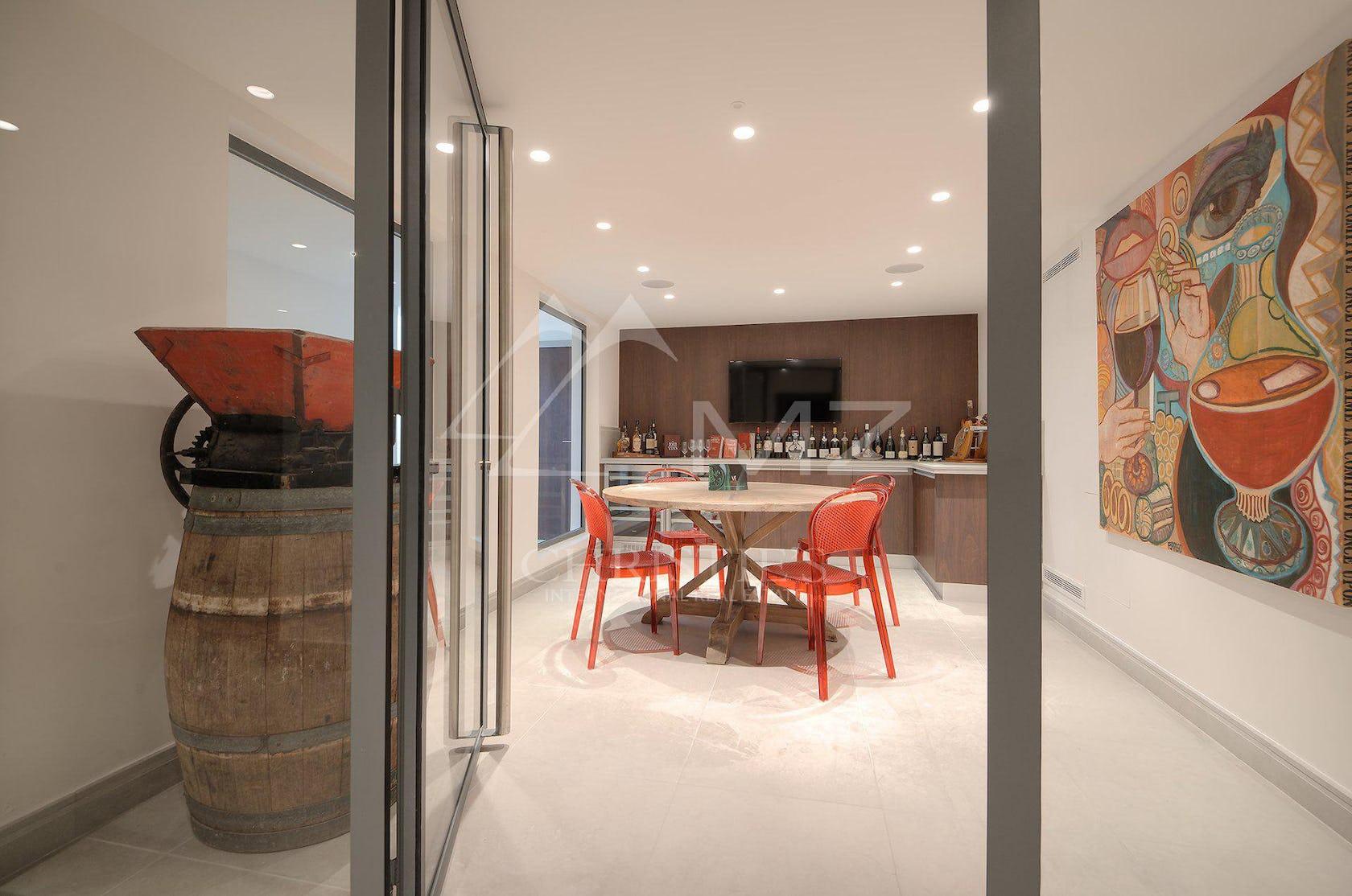 chair furniture flooring floor door interior design indoors