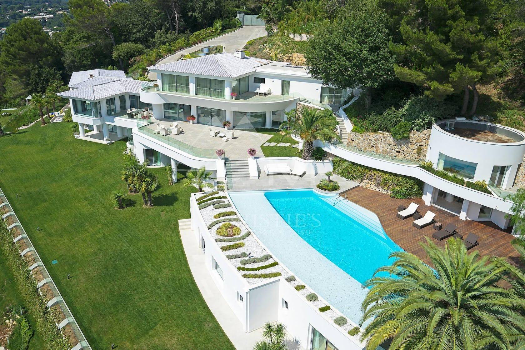 building resort hotel villa house housing pool water