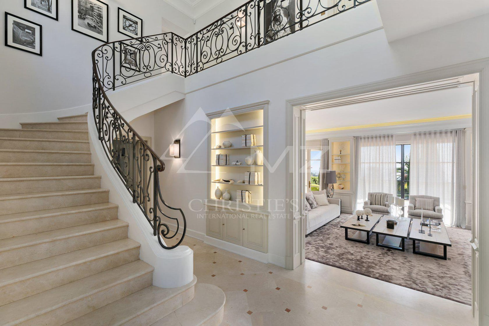handrail banister staircase interior design indoors