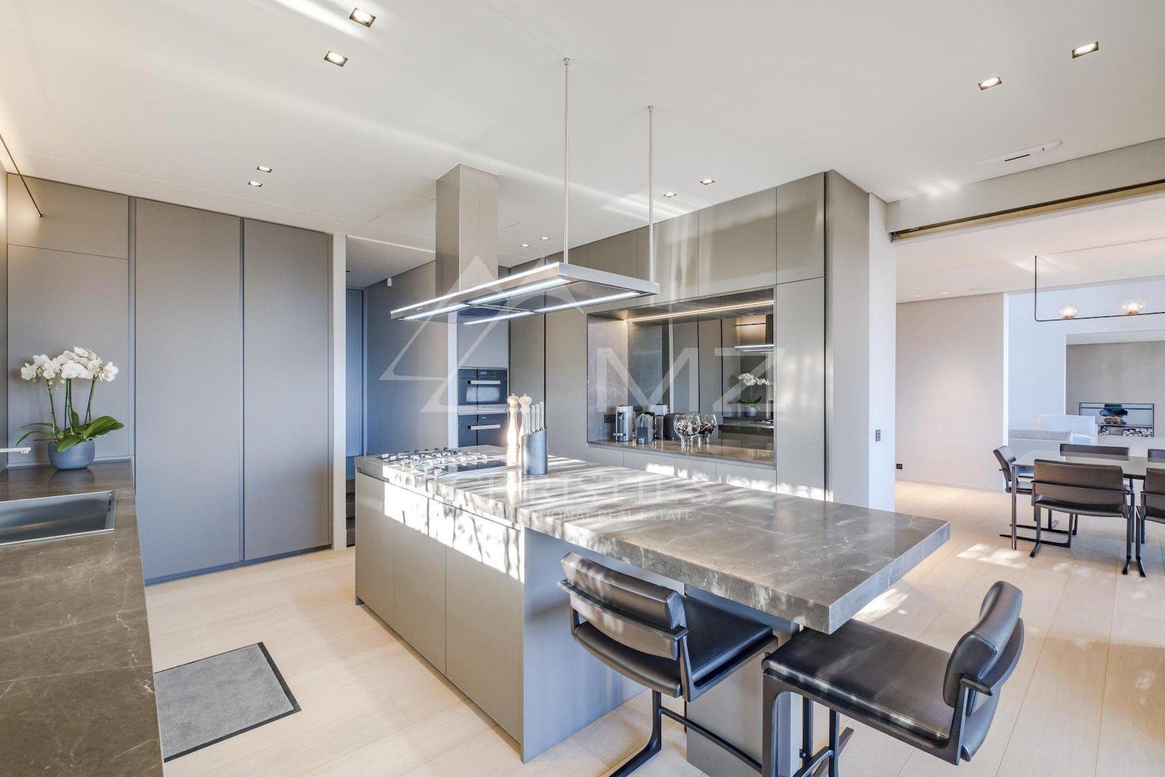 kitchen island indoors interior design flooring
