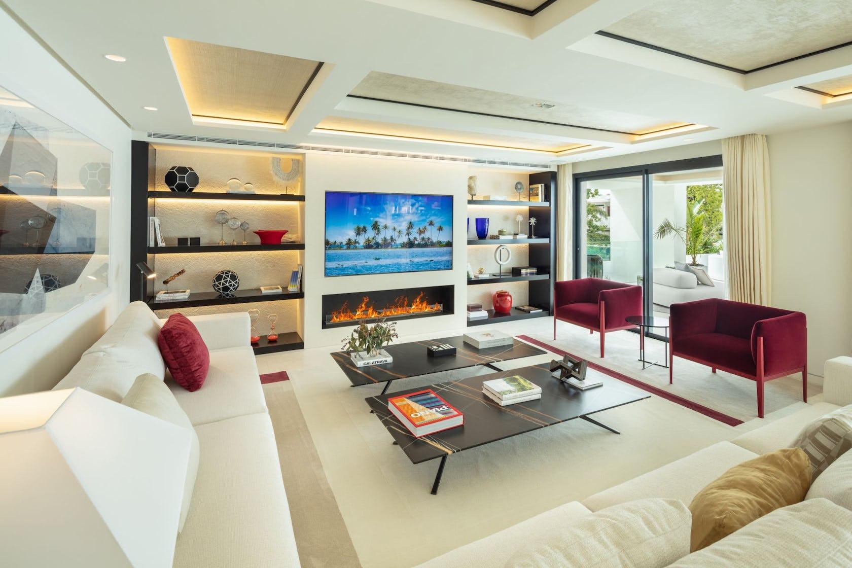 furniture table living room indoors room interior design coffee table rug