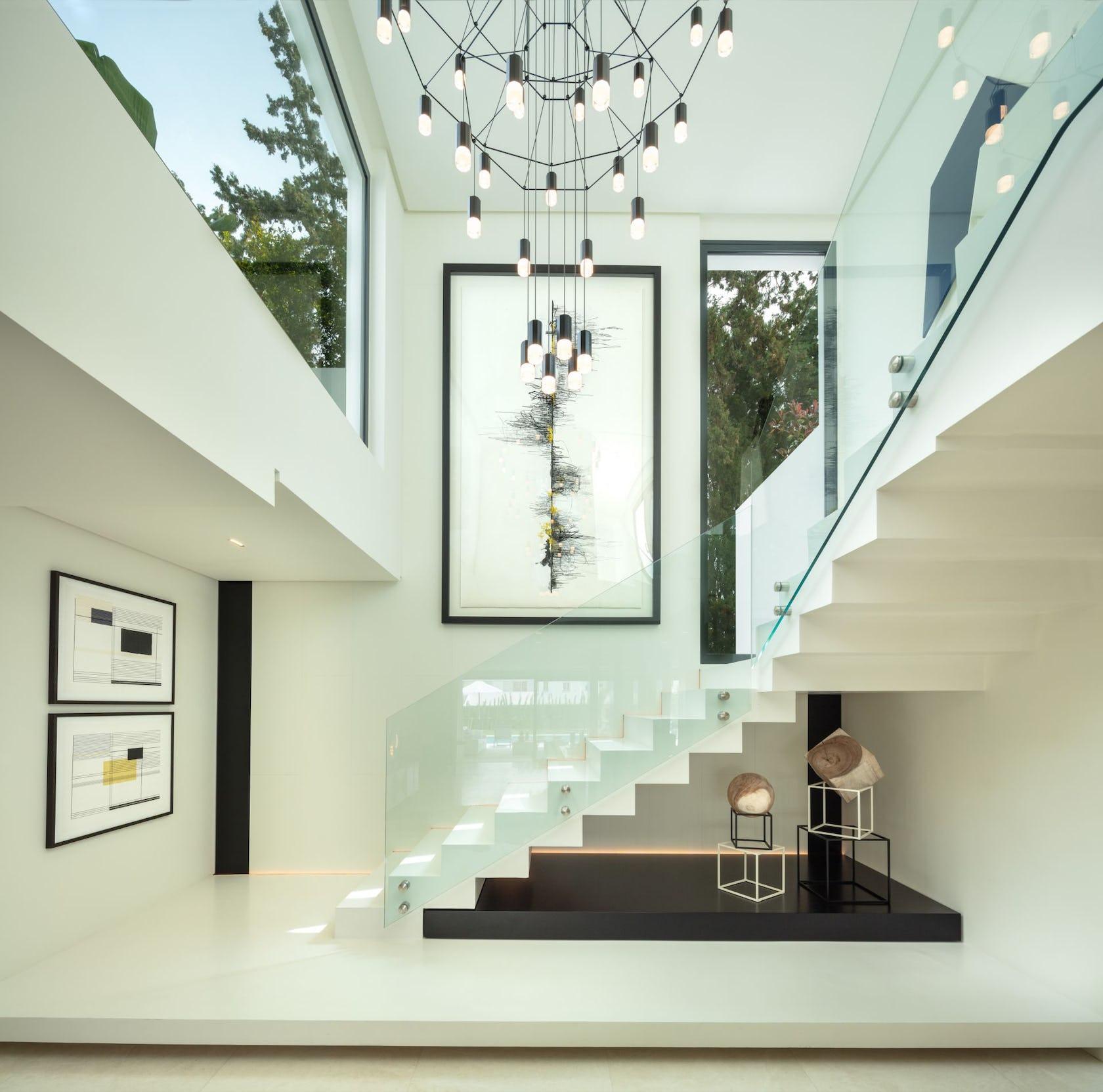 staircase handrail banister