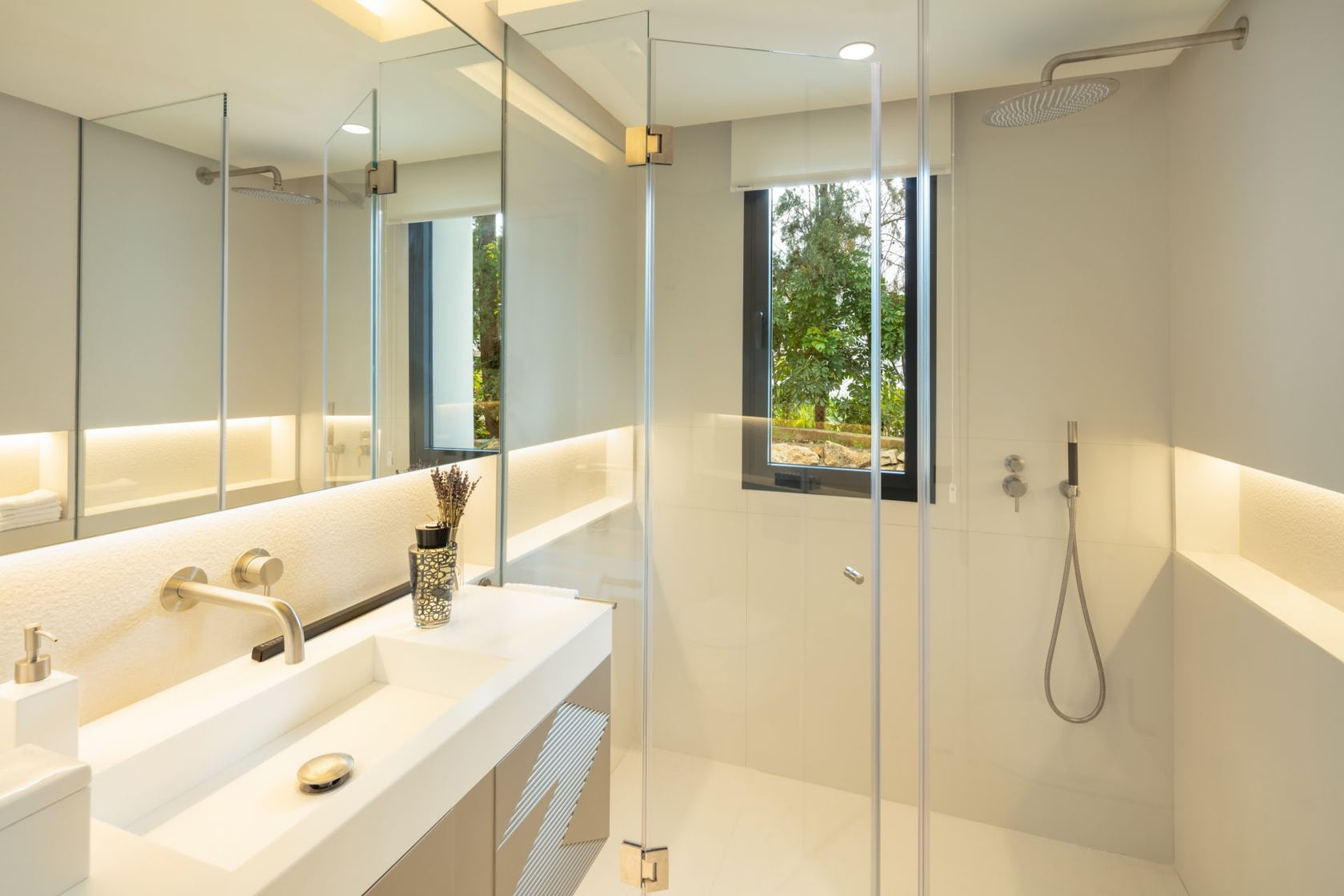 indoors room bathroom
