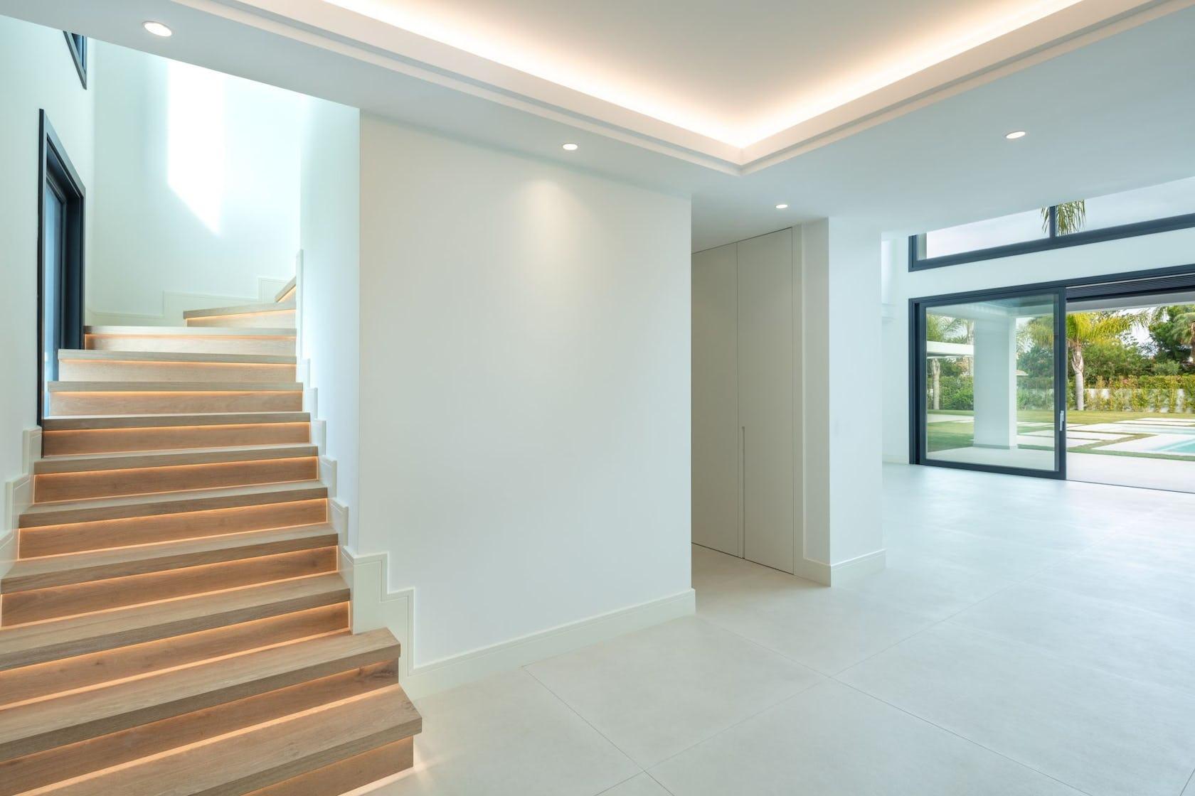 staircase flooring floor interior design indoors room