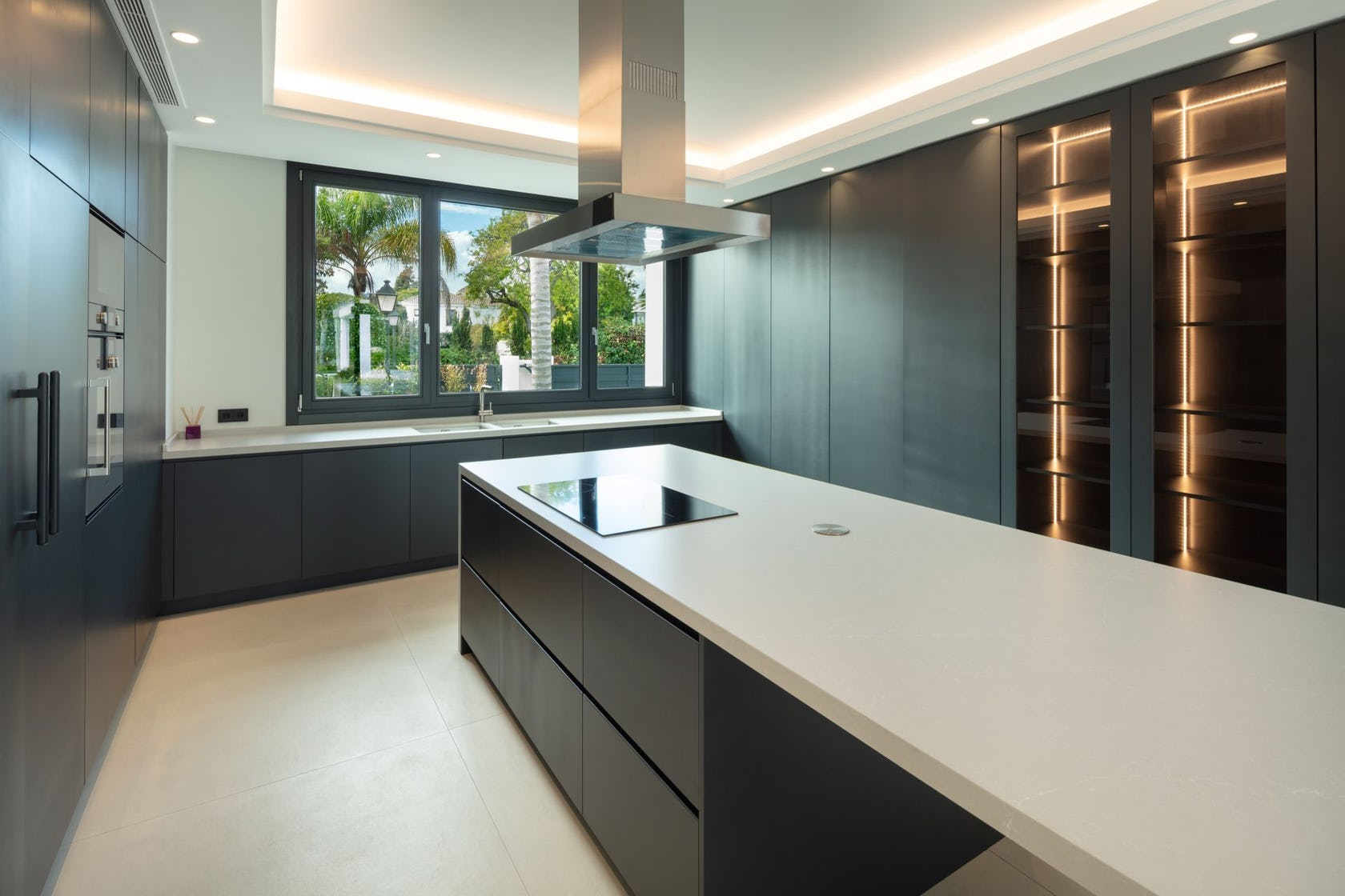 indoors room kitchen island kitchen