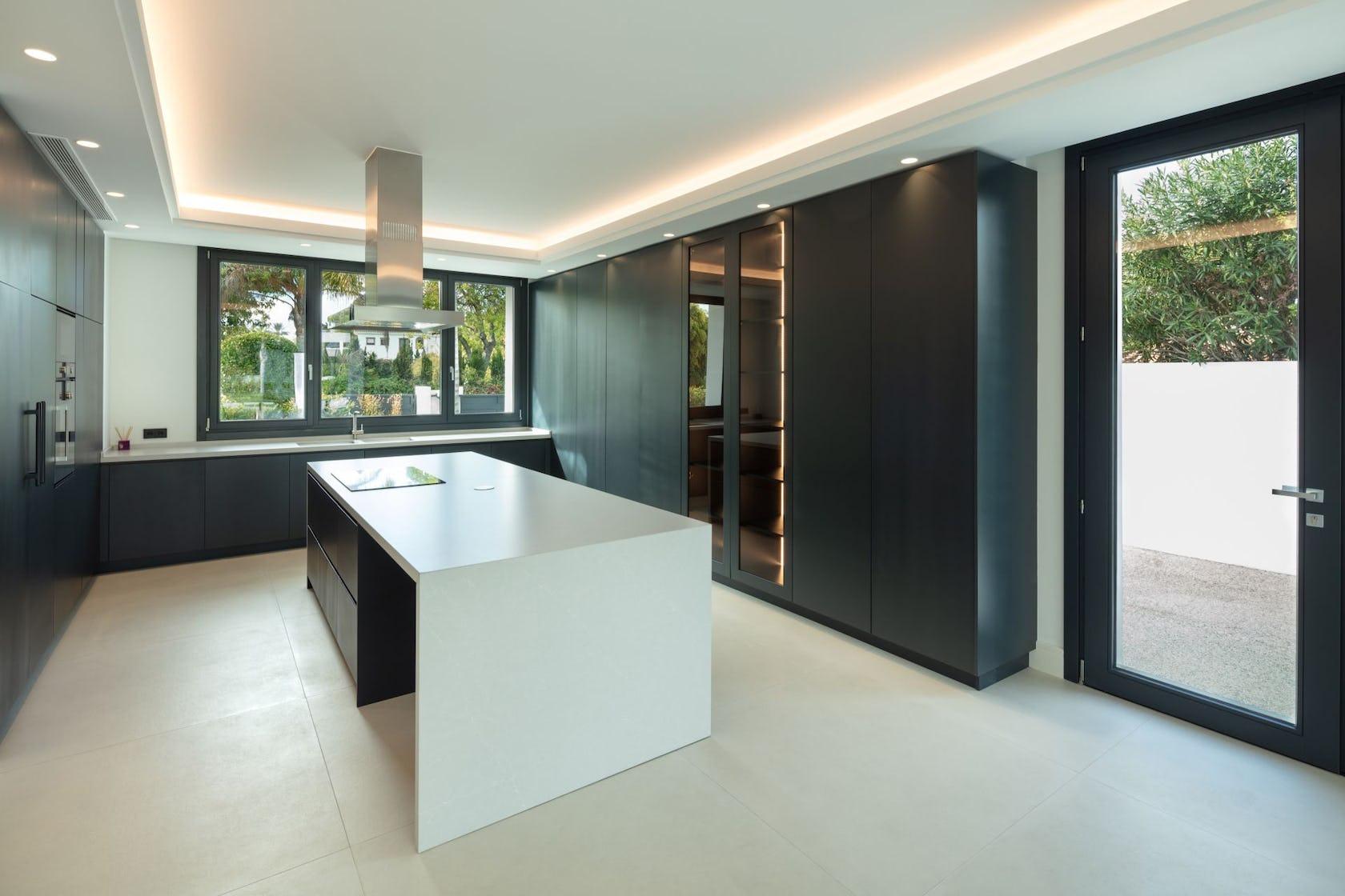 indoors flooring room furniture interior design floor kitchen