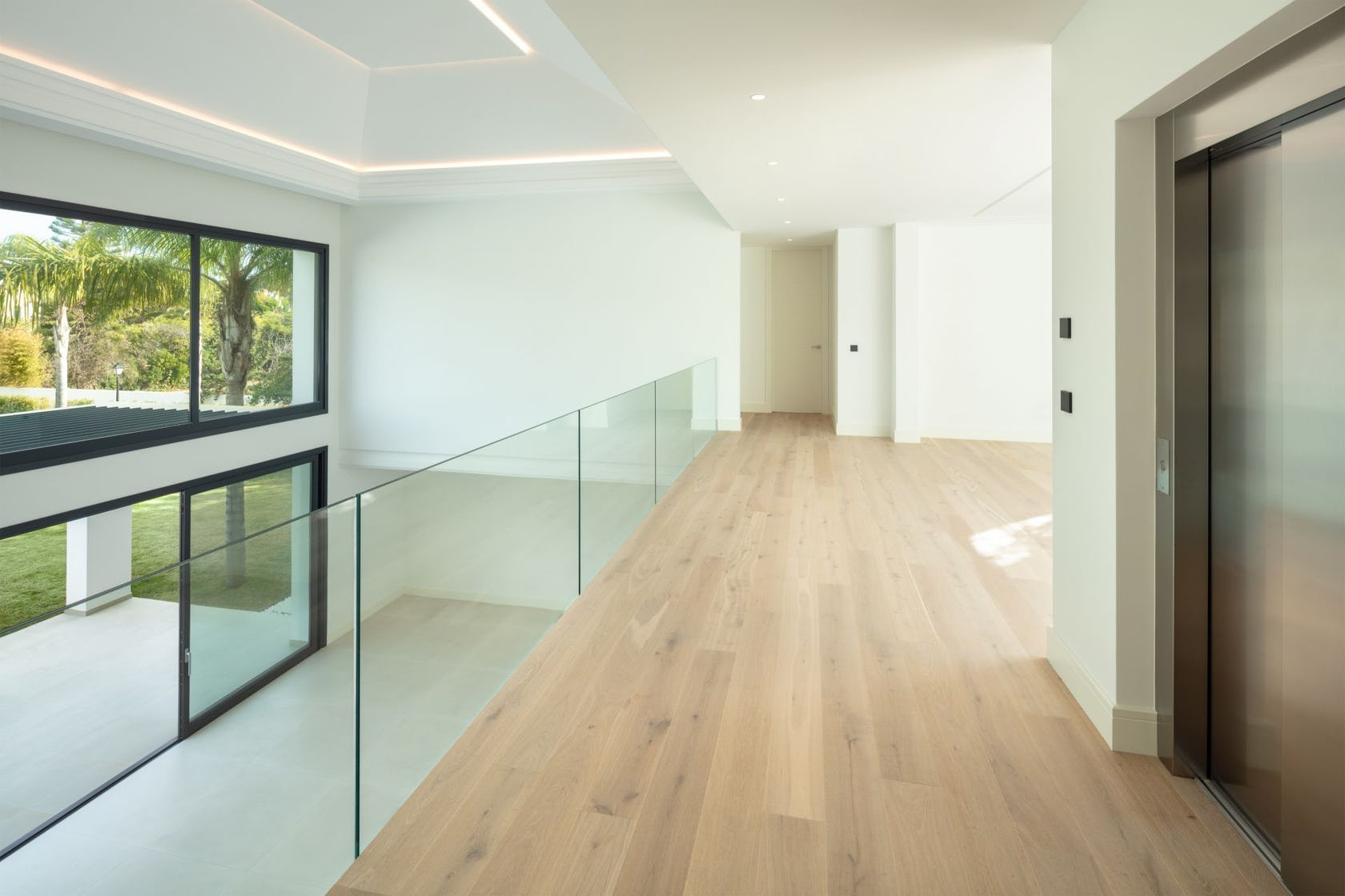 floor flooring wood indoors corridor