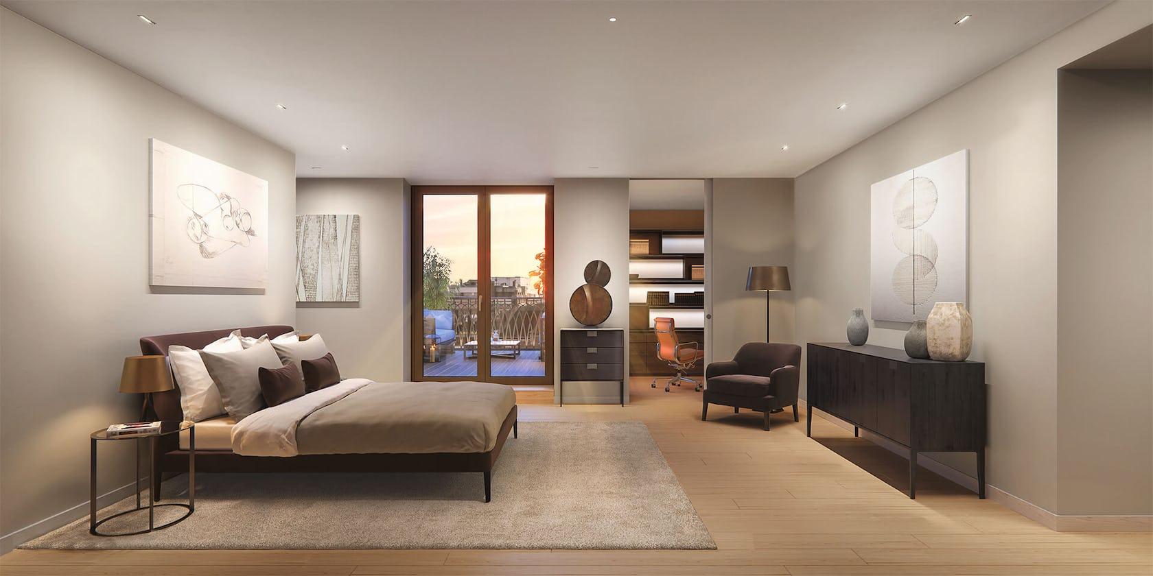 furniture bedroom indoors room interior design living room