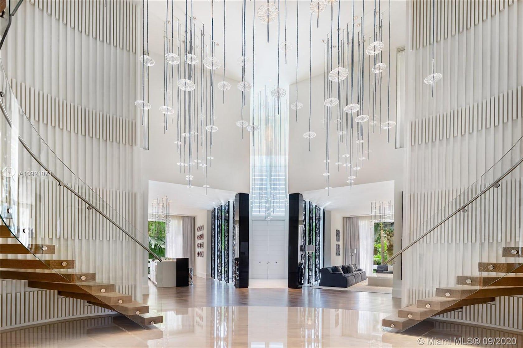 lobby room indoors floor flooring interior design furniture living room lighting