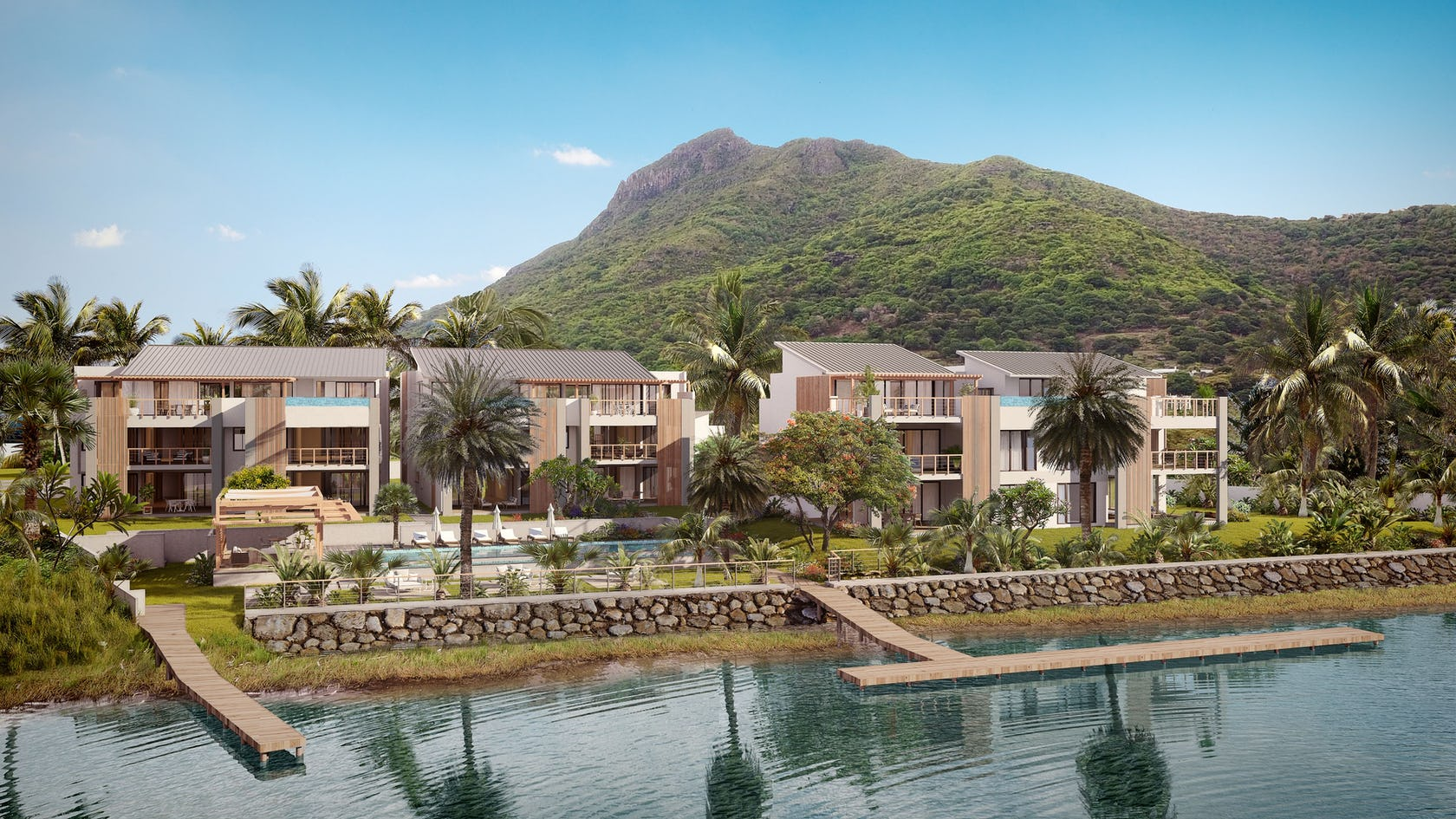 The WaterClub, luxury waterfront residence in Mauritius