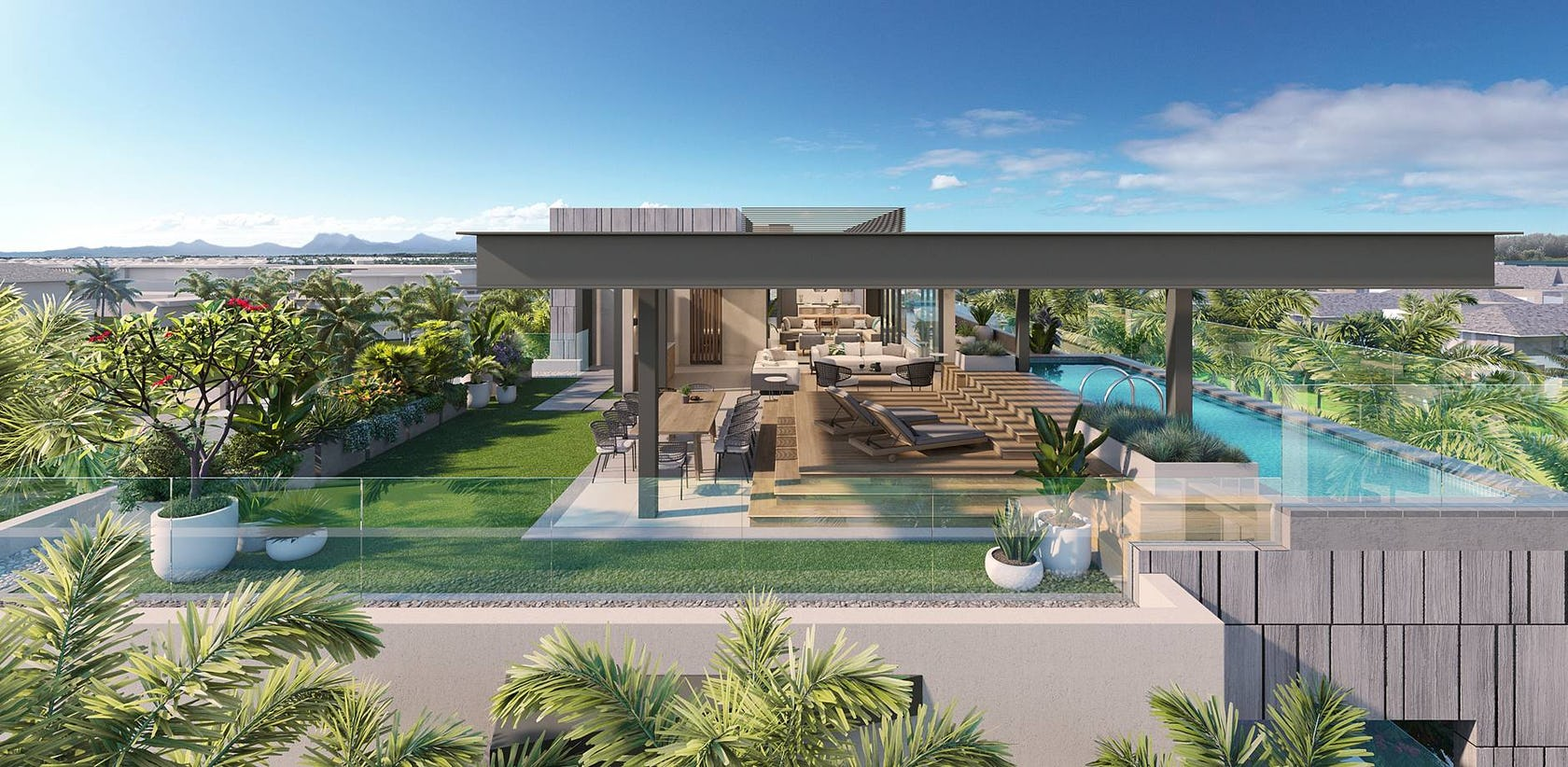 Mont Choisy, a beautiful residential project on a golf course in the north of Mauritius