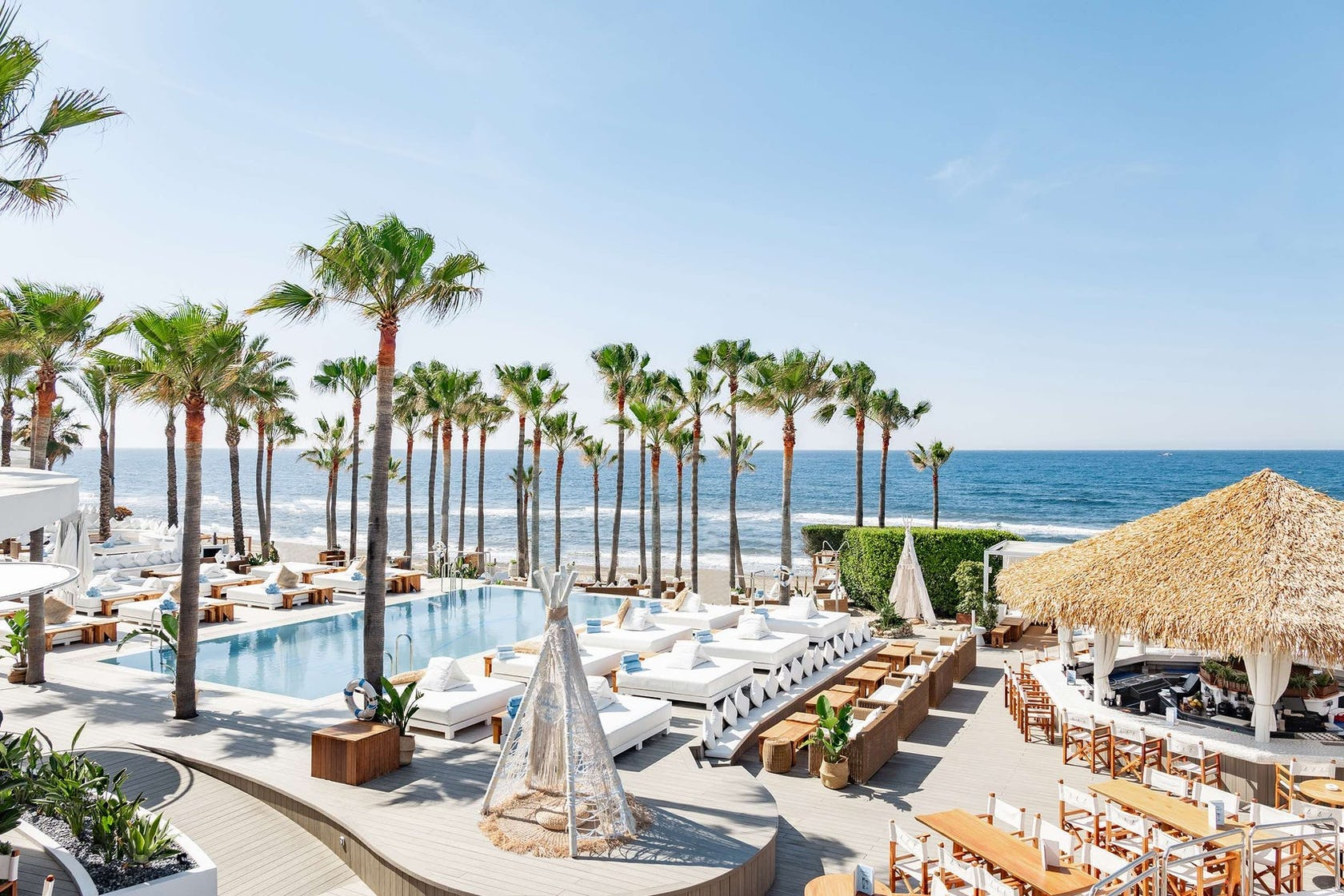 Top 5 Beach Clubs in Marbella