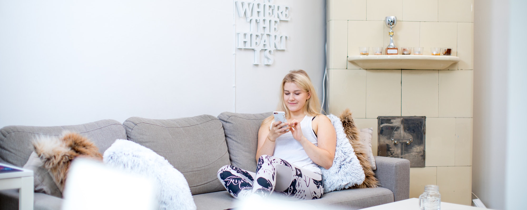 Liikunta-alan ammattilainen Matilda asuu yhdessä poikaystävänsä kanssa Turun itäisessä keskustassa.