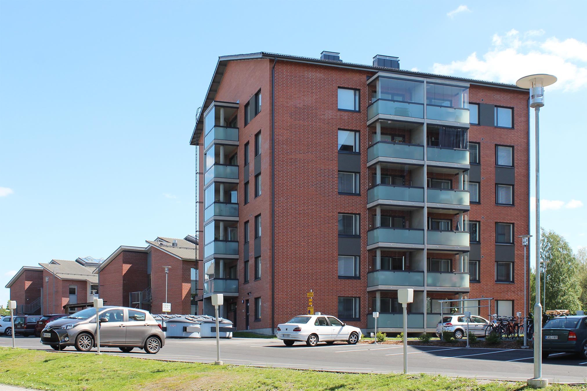 Asuntokohteen julkisivu, REVONTULENKATU 8, 20200 Turku