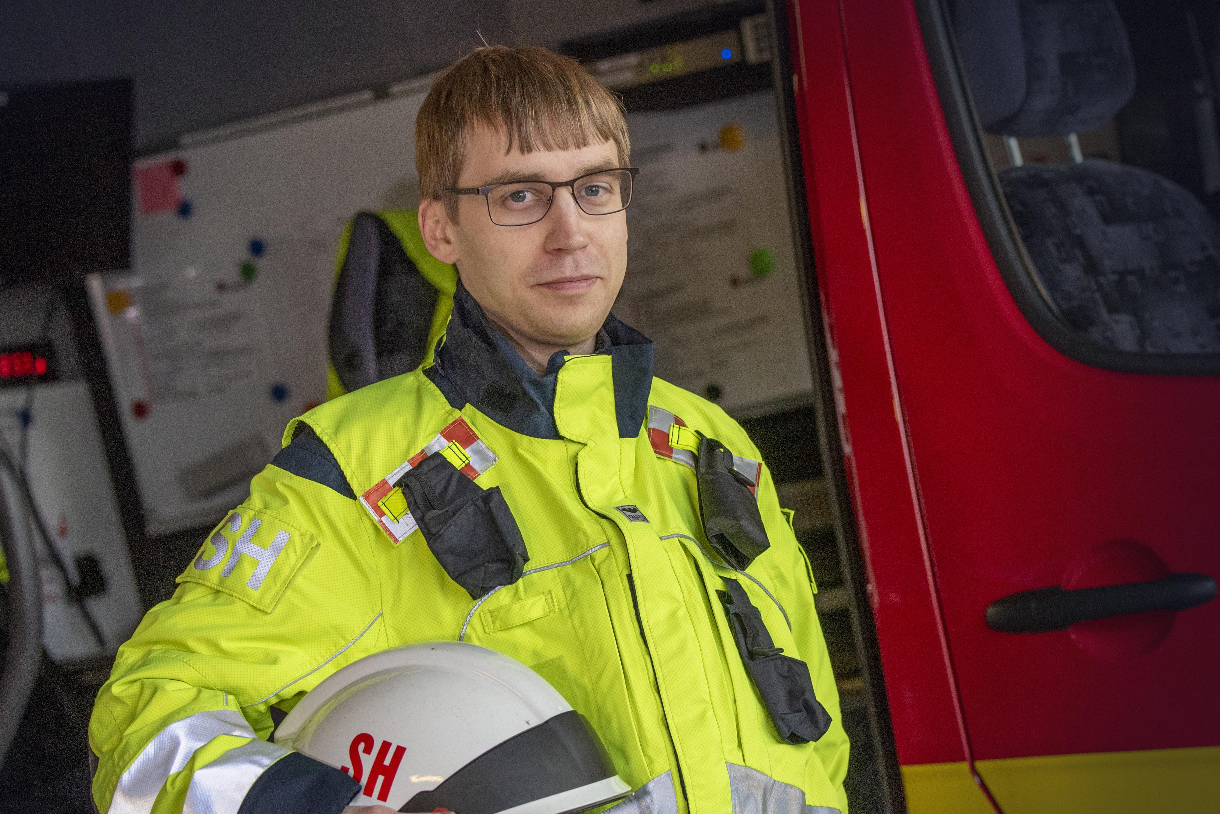 Aluepäällikkö Sebastian Holm