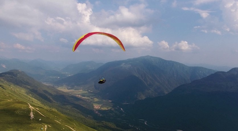 Cover Image for YOU NEVER KNOW. adventure,leisure activities,gliding,outdoors,nature