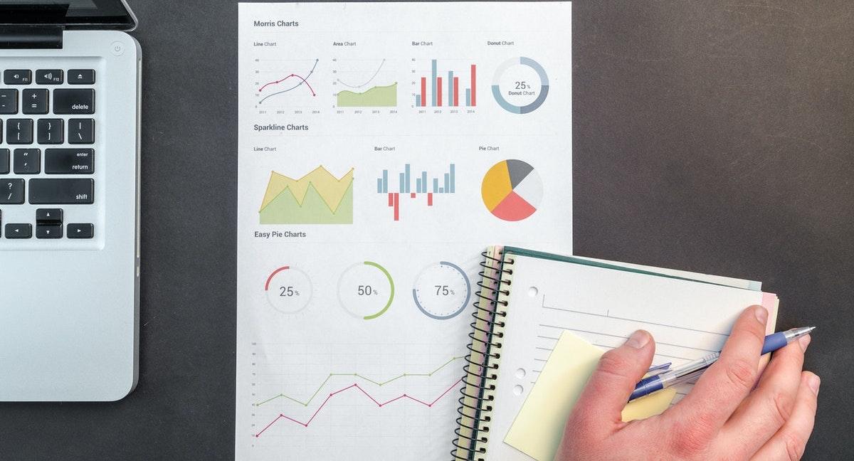 investment graphs financial market appreciation