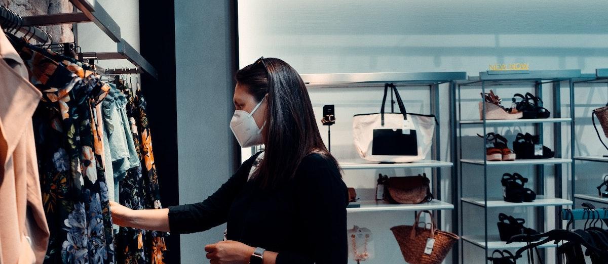 shopping covid pandemic