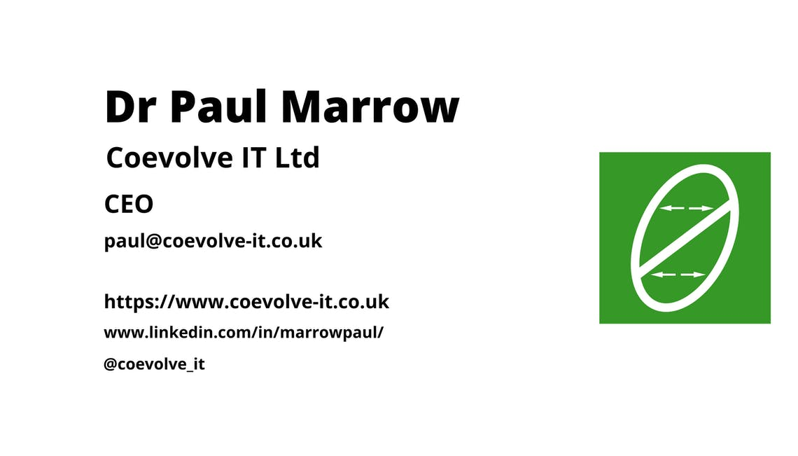 Dr Paul Marrow contact details without phone