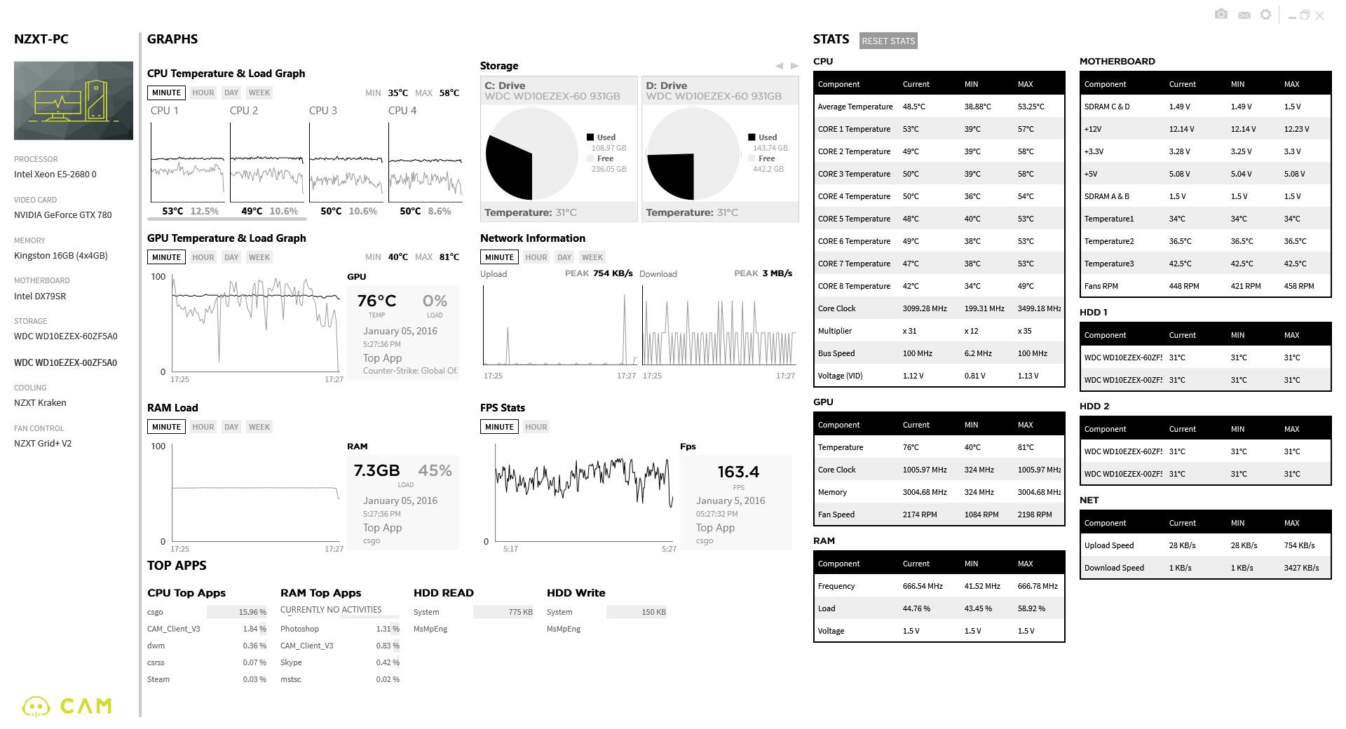 CAM 3.0 Full Screen