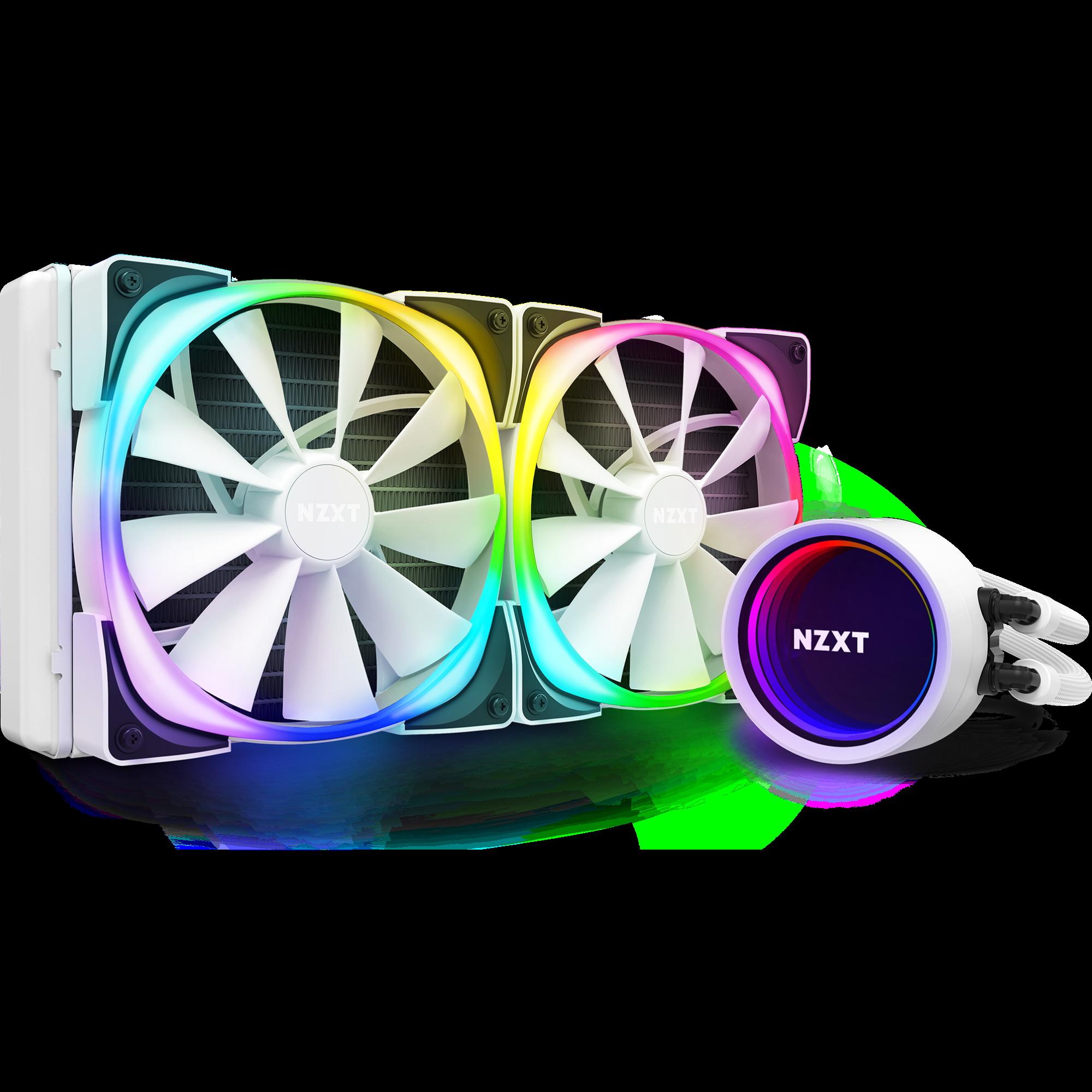 Kraken X63 RGB White Keyshot