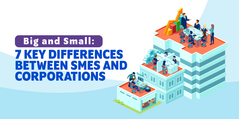 Big and Small: 7 Key Differences Between SMEs and Corporations
