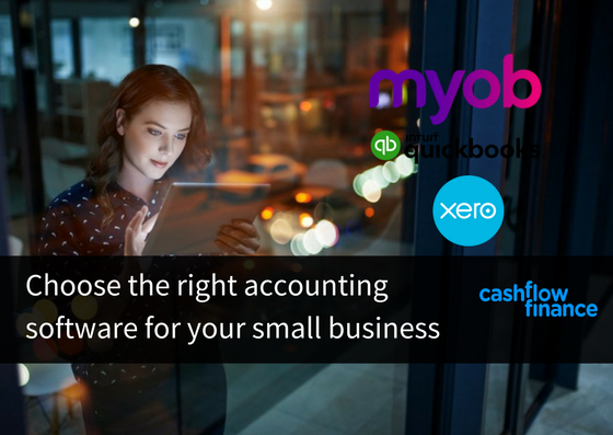 Choose the right accounting software for your small business
