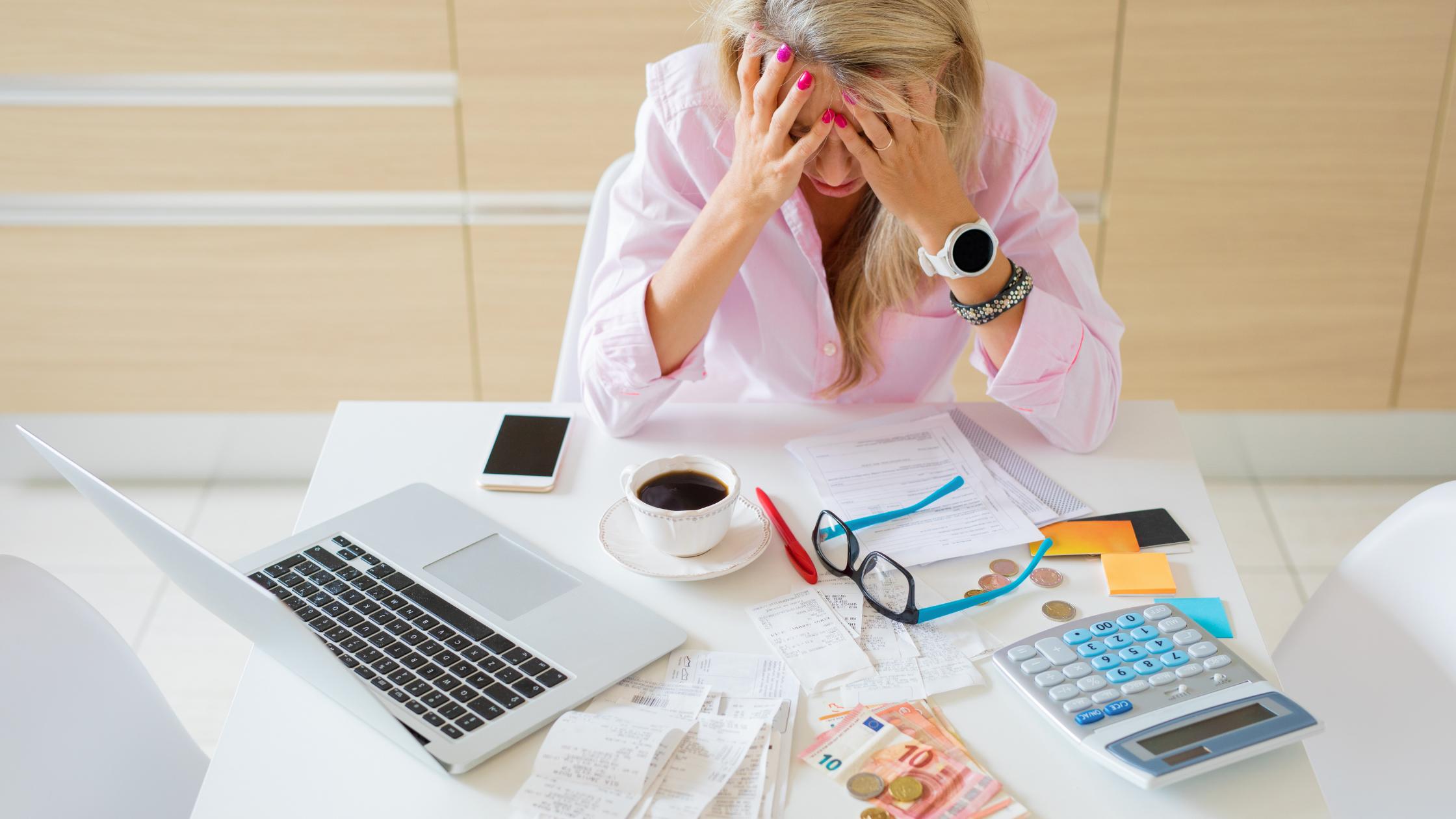 Cash flow concerns affect entrepreneurs