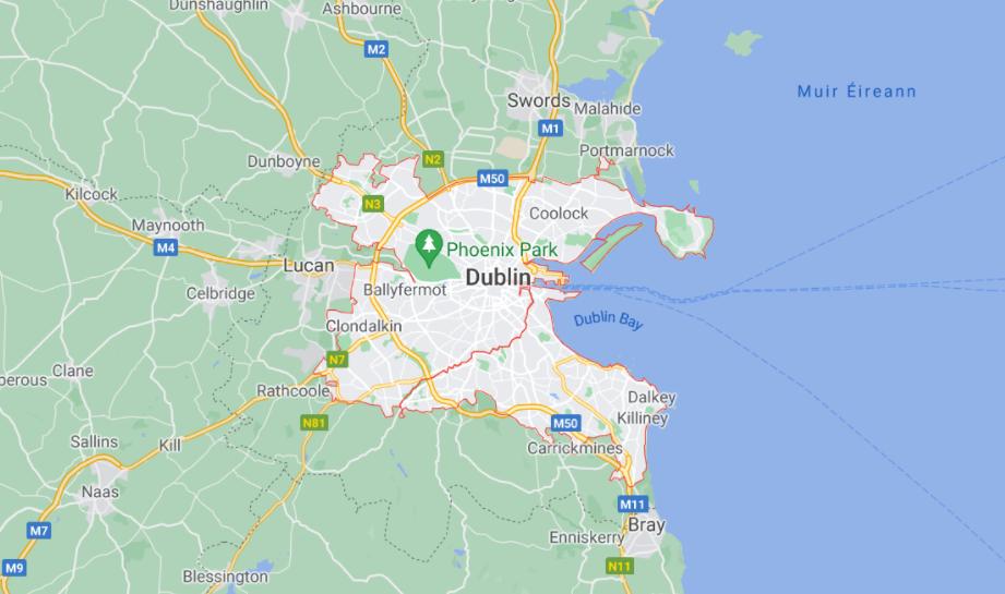 Ultimate Dublin Guide - map