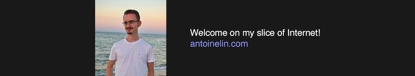 Hello there 👋🏻 I'm Antoine