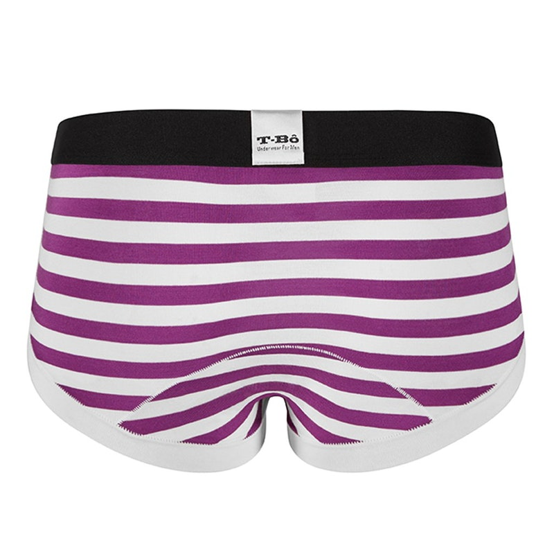 The Limited Edition  Ballsy Sparkling Grape Stripes Brief for men in the USA and Canada