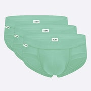 The Mint Green Brief 3 Pack