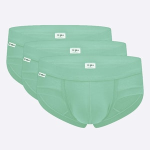 The Limited Edition Mint Green Brief for men in the USA and Canada