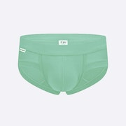 The Mint Green Brief Front