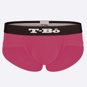 The Ballsy Pink Brief Front