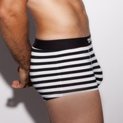 The Limited Edition Ballsy Pirate Black Stripes Trunk for men in the USA and Canada