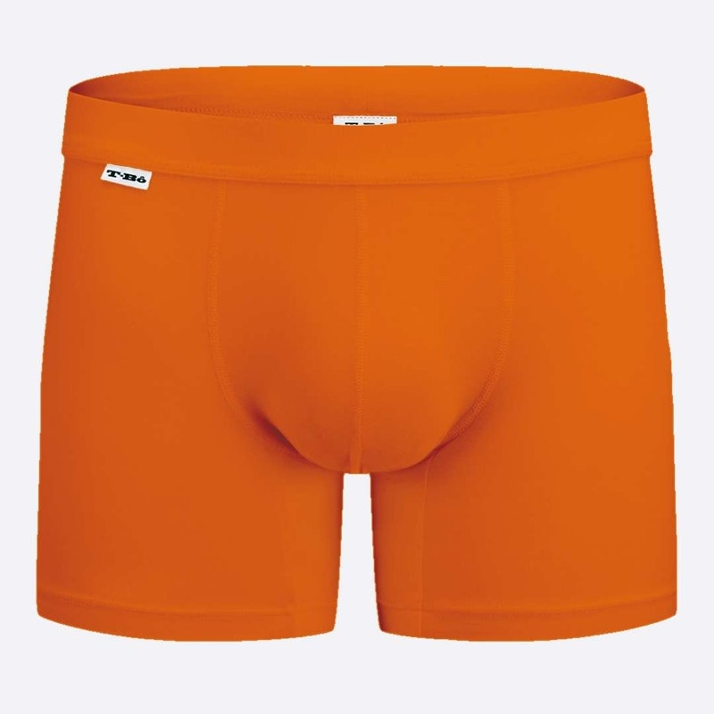 The Limited Edition TBô Boxer Brief - Tiger Orange for men in the USA and Canada