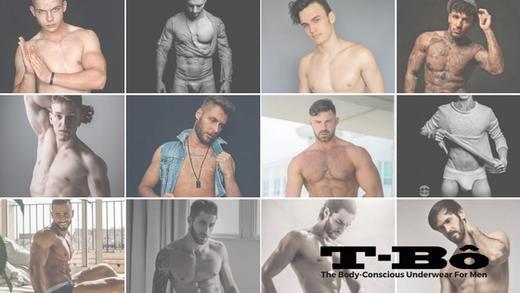 Compilation of T-Bô Underwear Models