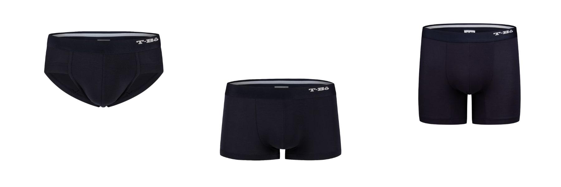 Wearing briefs as underwear