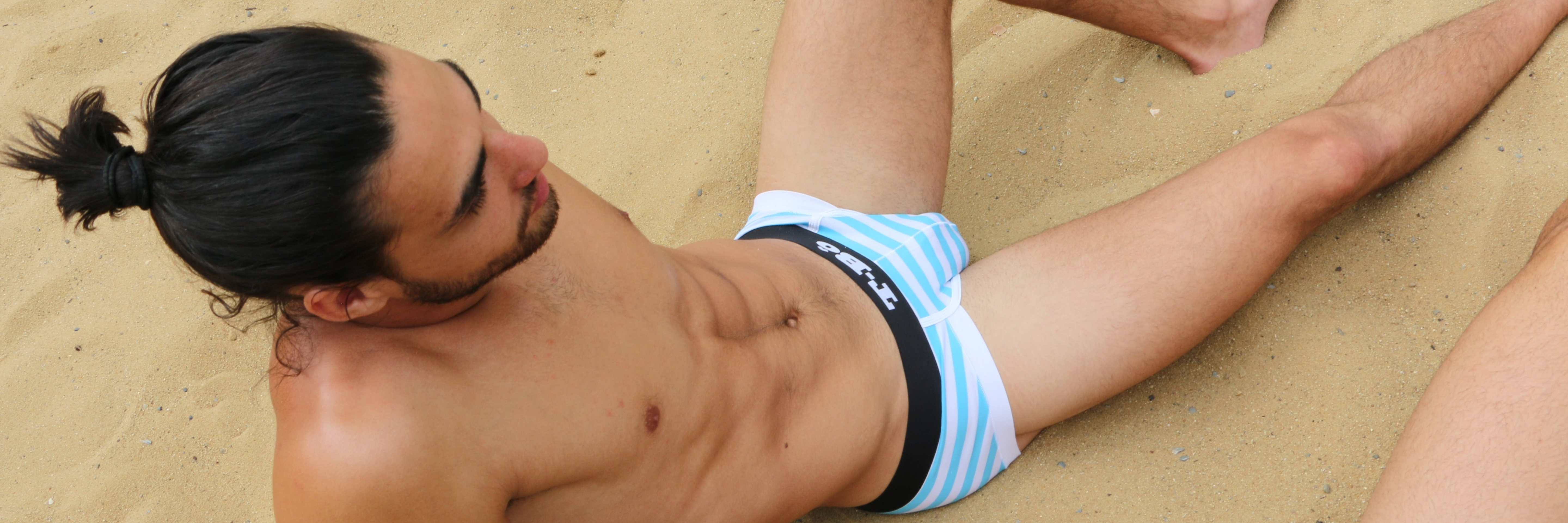 The TBô Ballsy Brief is the boldest and sexiest bamboo underwear style for men