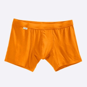The Limited Edition Citrus Orange Boxer Brief for men in the USA and Canada