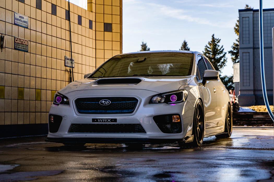 Image of the Subaru SVX parked