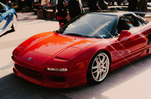 Image of the 1991 Acura NSX  on the road
