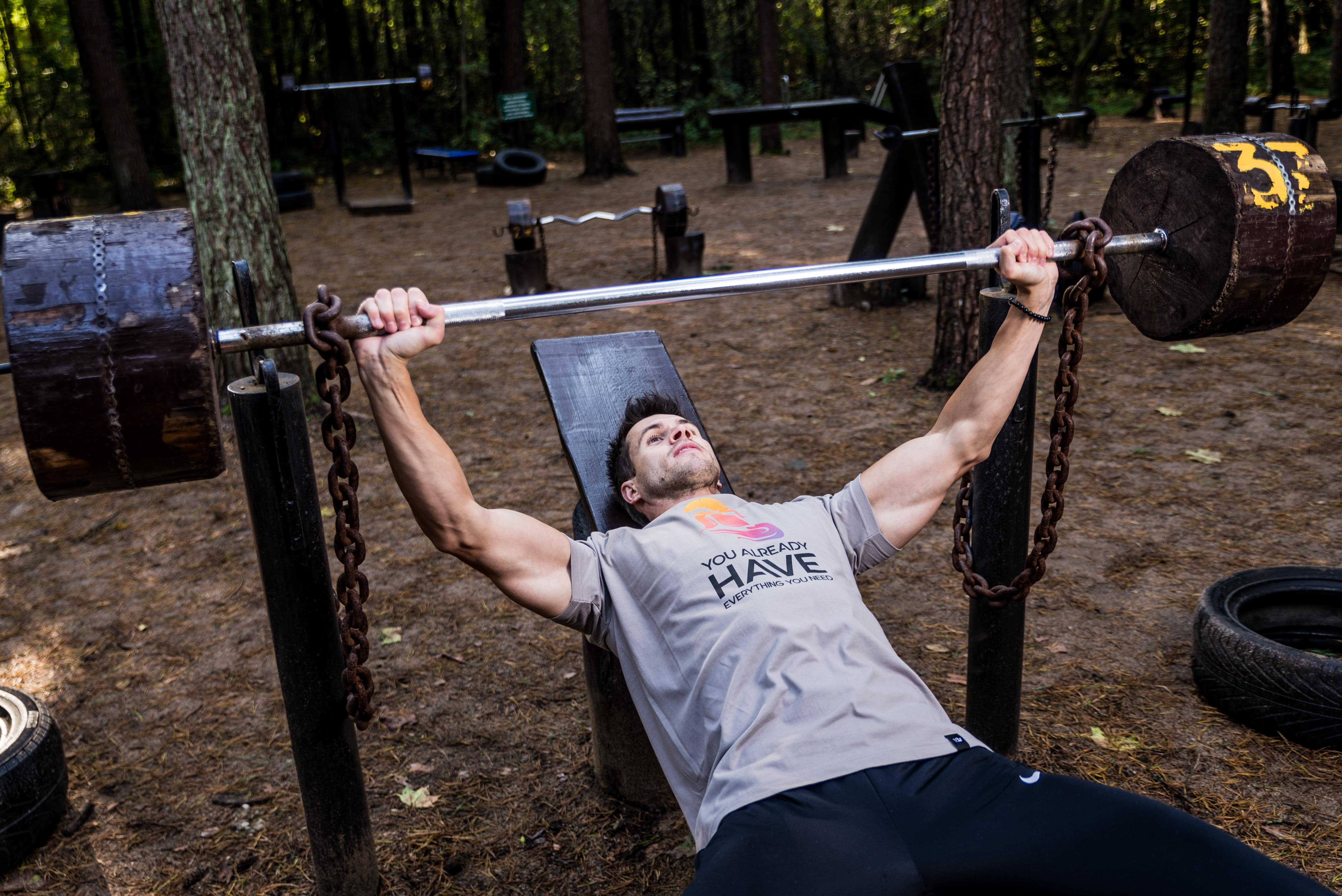 The specified angle will bring focus to the upper portion of your chest instead of working on the whole pectoral region