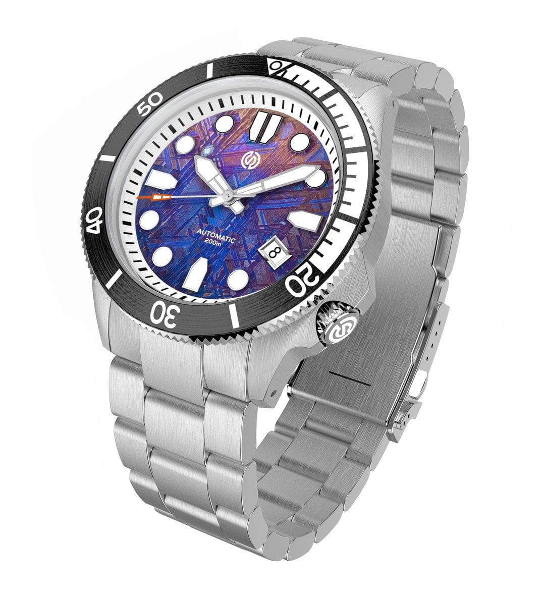 Image of the signum cuda diver watch with mosaic dial
