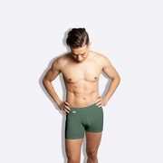 The Limited Edition Vintage Green Boxer Brief for men in the USA and Canada