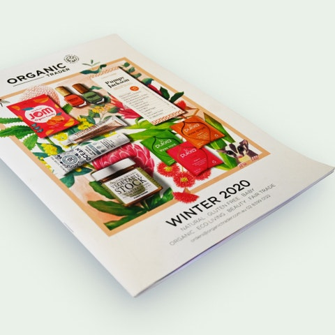 Photograph of a newsletter publication printing by A&O