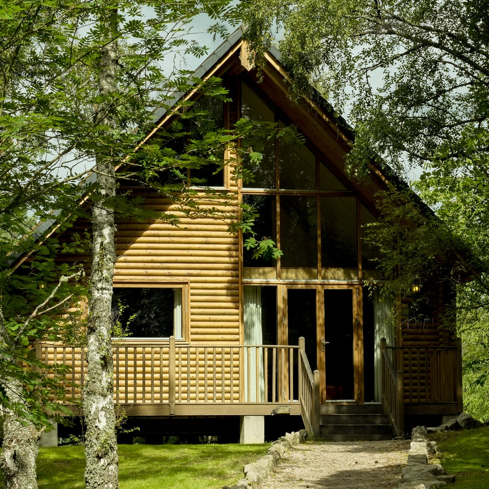Three Bed Woodland Lodge