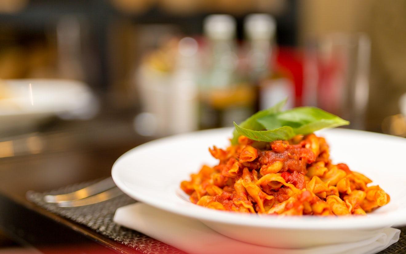 Pasta at Giovannis Italian