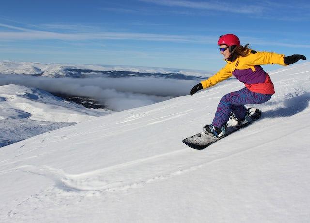 Snowboarding Aviemore